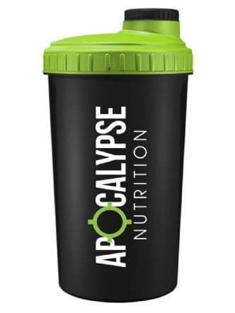 *Apocalypse Nutrition Screw Caps Shaker 700ml - Black & lime Green