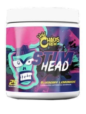 *Chaos Crew Stim Head Pre Workout 208g