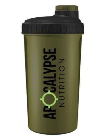 Apocalypse Nutrition Screw Caps Shaker 700ml - Military Green