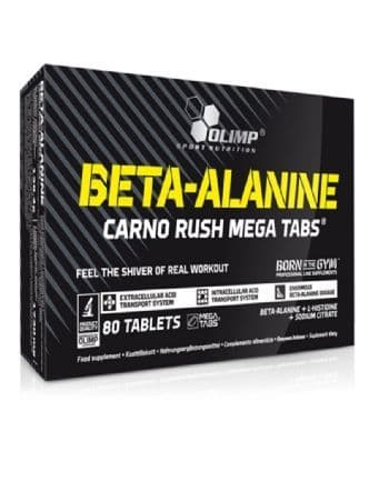 Olimp Beta Alanine Carno Rush Mega Tabs x 80 Tabs