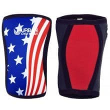 Urban Gym Wear Knee Sleeves - Stars & Stripes