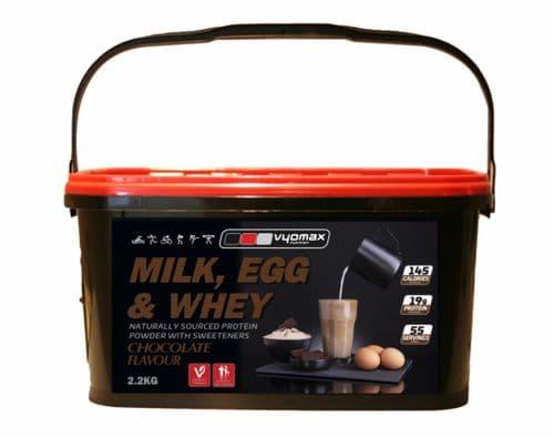 VYOMAX® MILK, EGG & WHEY 2.2KG (NEW TUB'S)