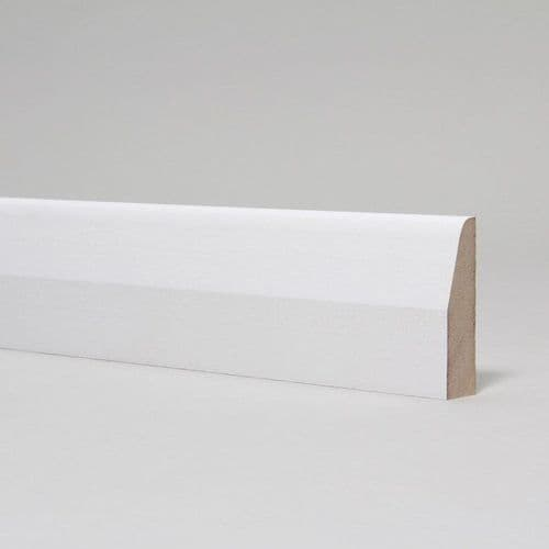 14.5mm Chamfered & Round Primed MDF Architrave