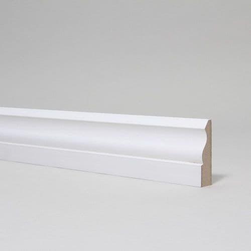 14.5mm Ogee Primed MDF Architrave