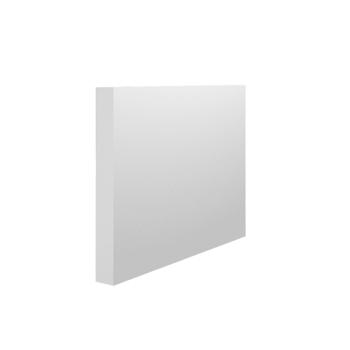 18mm Square Edge Section Primed MDF