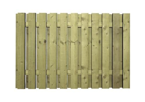 Double Sided Paling Fence Panel