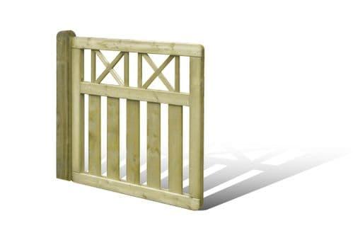 Elite Cross Top Garden Gate