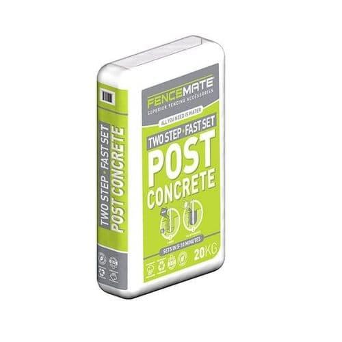 Fast Set Post Concrete