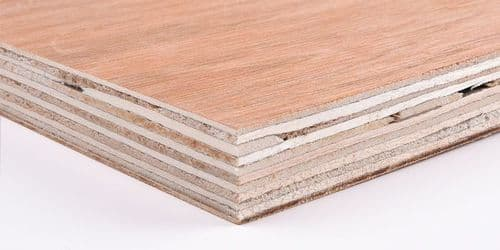 Red Hardwood Faced Plywood
