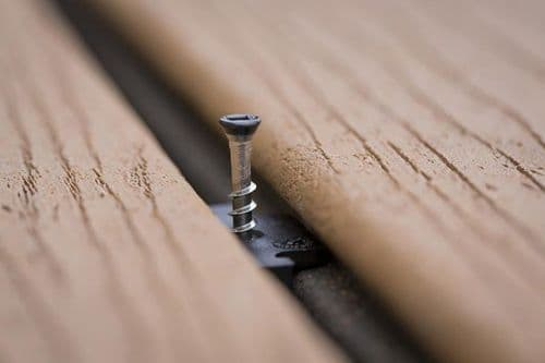 Trex Hideaway® Secret Fixing System - for grooved edge boards