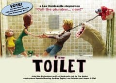 T Is For Toilet A3 Poster