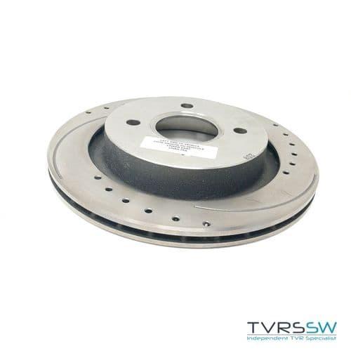 Brake Disc Rear Vented 275MM - J0136B
