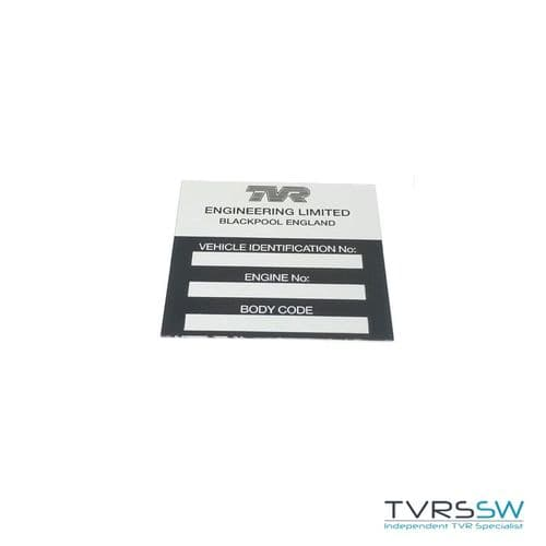 Chassis Plate - U0317
