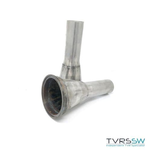"Exhaust Decat Pipes 2 1/8"" 54mm"