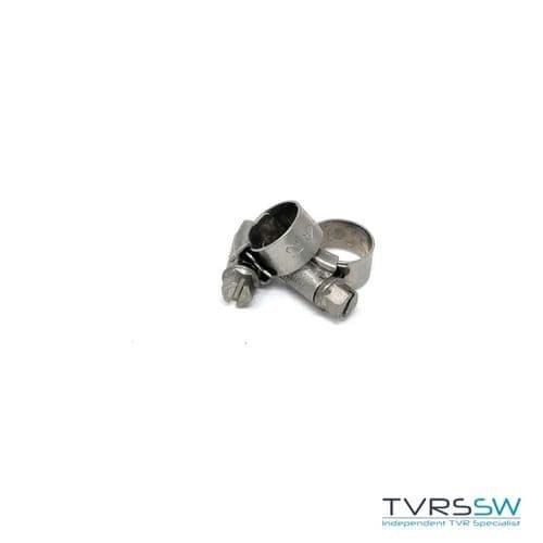 Marine Grade Hi Grip Stainless Steel Jubilee Hose Clip 9.5-12MM [Pair]