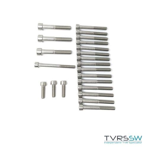 Speed Six Cam Cover Stainless Steel Bolt Kit - S6BoltKit