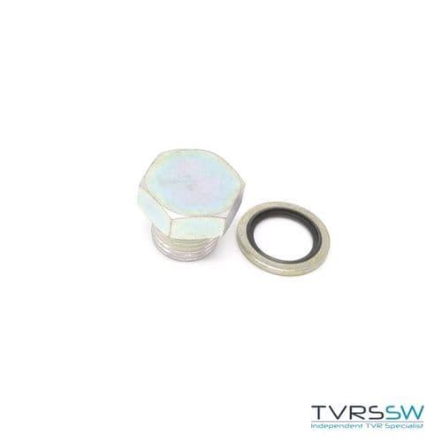 Steel Sump Plug & Washer