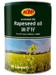 Ktc Rapeseed Oil   1 X 20 Litres