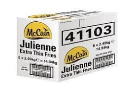 McCAIN JULIENNE EXTRA THIN CHIPS 10kg