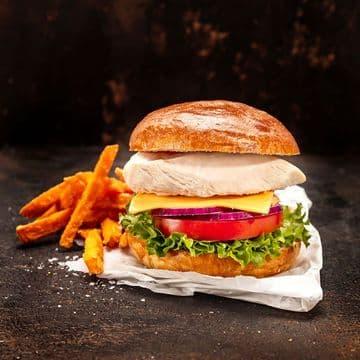 """Meadowvale Chicken Fillet Burger 20X120Gr """"""""Bag"""""""""""
