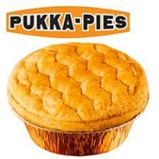 Pukka Beef & Onion Pie Fresh 12 Pcs