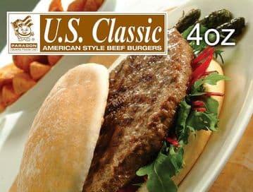 US CLASSIC BEEF   BURGER 48x 113gr