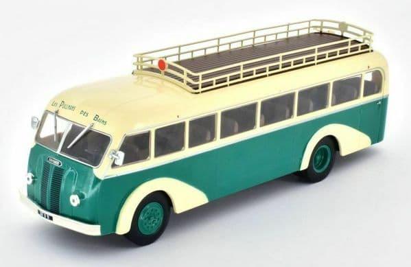 IXO Hachette HC58 1/43 Scale Panhard Movic Ie 24 Bus Coach France 1948 - 1953