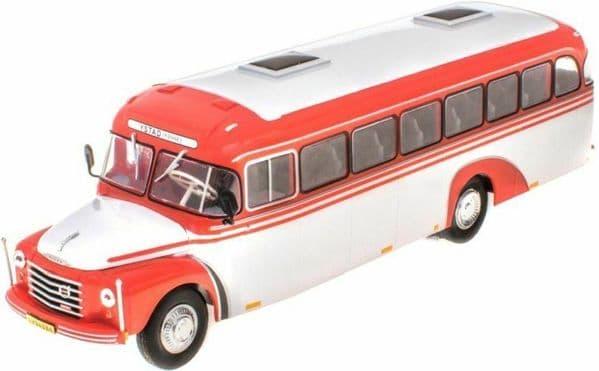 IXO Hachette HC72 1/43 Scale Volvo B 375 105 Bus Coach Ystad Sweden 1957