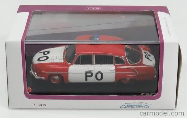 Abrex 143 401XL 1/43 Scale TATRA - 603 VB PO CZECH FIRE BRIGADE 1969