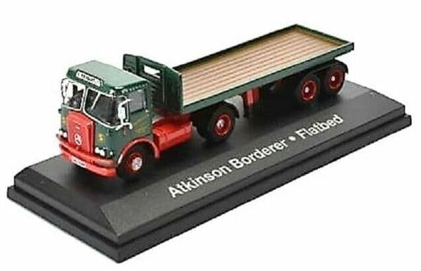 Altas Oxford JV9103 1/76 Eddie Stobart Atkinson Borderer with flatbed trailer