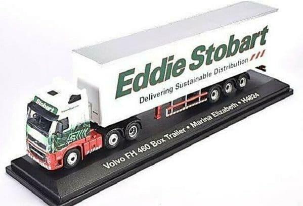 Altas Oxford JV9117 1/76 OO Eddie Stobart Volvo FH Box Van Marina Elizabeth