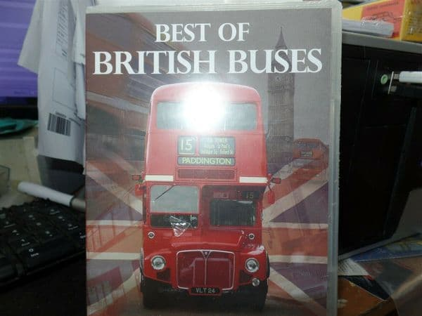 ATLAS BRITISH BUS CORGI BEST OF BRITISH BUSES DVD