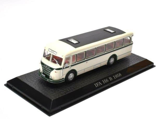 ATLAS DeAgostini JY08 1/72 Scale Ifa H6 B Bus Coach 1958