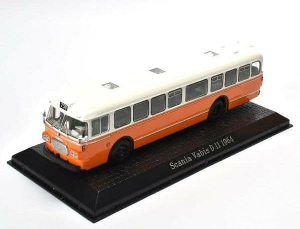 ATLAS DeAgostini JY21 1/72 Scale Scania Vabis D 11 1964 Bus Coach