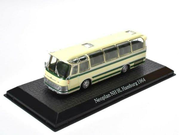 ATLAS DeAgostini JY30 1/72 Scale Neoplan NH 9L Hamburg 1964 Bus Coach