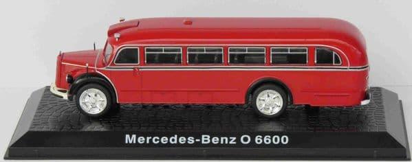 ATLAS DeAgostini LZ03  1/72 Scale Bus Mercedes-Benz O 6600 Coach German Fire Brigade
