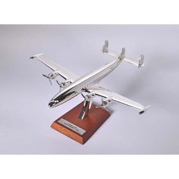 Atlas HB03 1/200 Scale Silver Aeroplane Lockheed L-1049 Super Constellation 1951