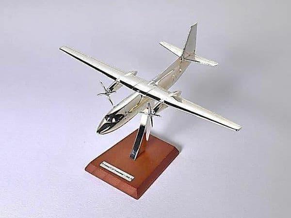 Atlas HB06 1/200 Scale Silver Aeroplane 1/200 Fokker - F-27 Friendship - 1955