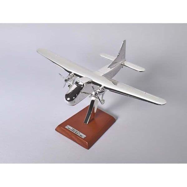 Atlas HB21 1/200 Scale Silver Aeroplane Bristol Type 170 Superfreighter MK 32 - 1953
