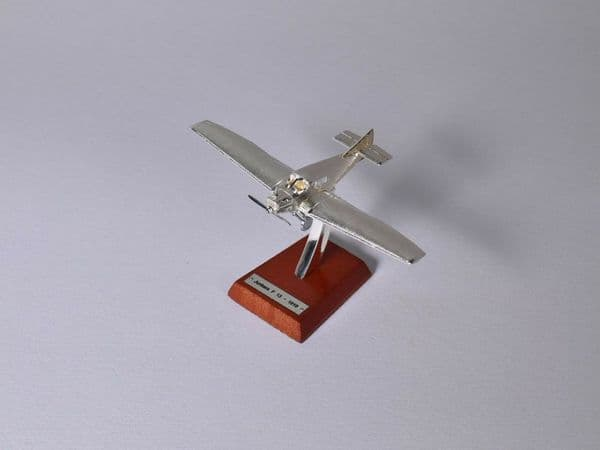 Atlas HB24 1/200 Scale Silver Aeroplane 1/200 Junkers F13 Fighter - 1919