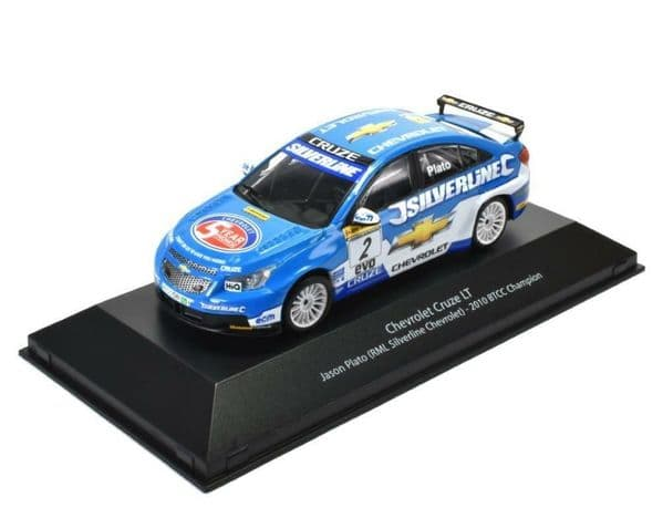ATLAS HR03 1/43 SCALE Chevrolet Cruze LT  2010 BTCC Champion Jason Plato