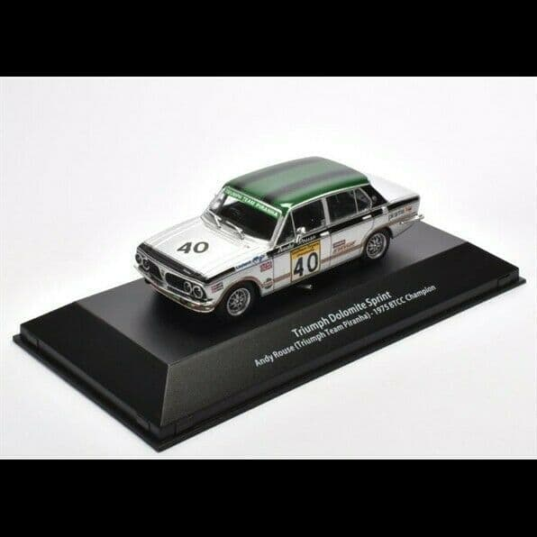 ATLAS HR13 1/43 O Triumph Dolomite Sprint BTCC Champion Andy Rouse Piranha 1975