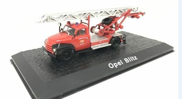 Atlas HY04 1/72 Scale Fire Engine Opel Blitz Ladder