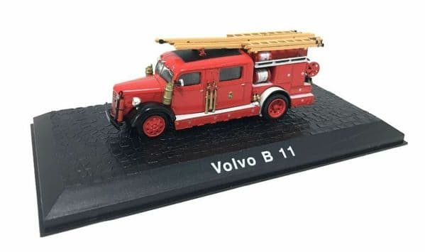 Atlas HY05 1/72 Scale Fire Engine Volvo B 11 Ladder