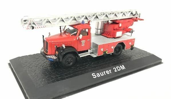 Atlas HY16 1/72 Scale Fire Engine Saurer 2 Dm