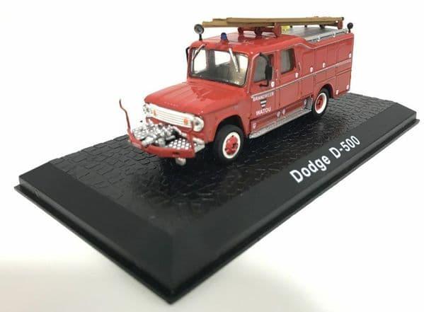 Atlas HY99 1/72 Scale Fire Engine Dodge D500 Brandweer Watou