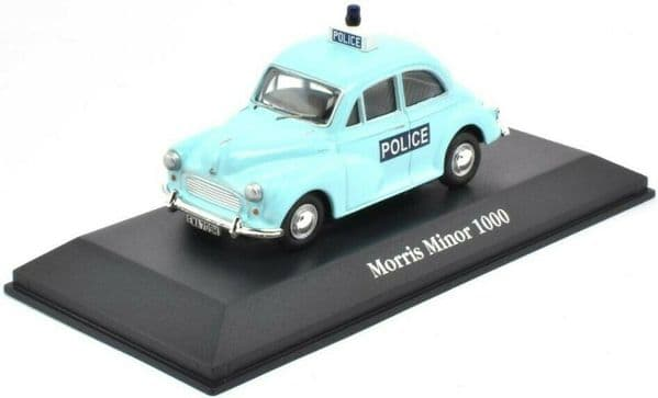Atlas JA21 1/43 O Scale British Police Morris Minor 1000 South Yorkshire