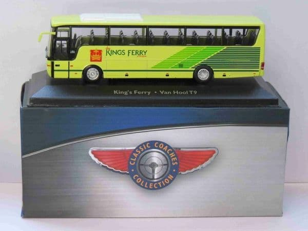 Atlas JE04 1/76 Scale Classic Coaches Van Hool Coach T9 King's Ferry