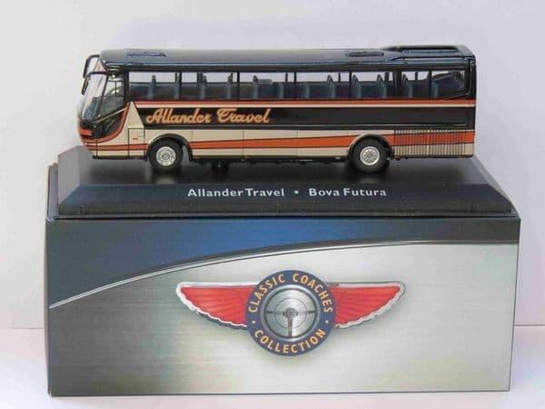 Atlas JE10 1/76 Scale Classic Coaches Bova Coach Futura Allander Travel