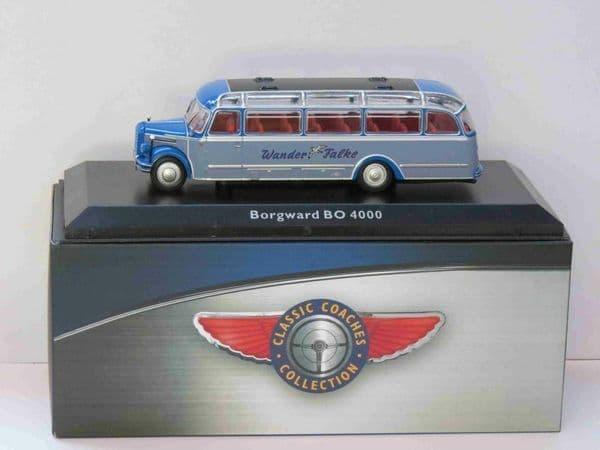 Atlas JE13 1/76 Scale Classic Coaches Borgward BO 4000 Coach Wander Falke